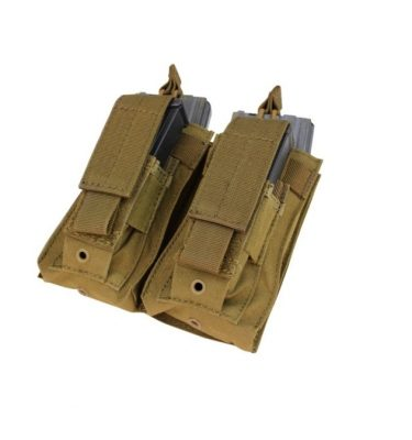 military surplus molle kangaroo double mag pouch