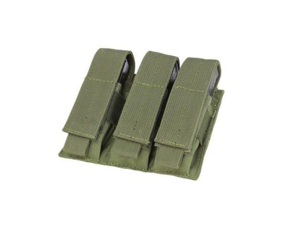 military surplus molle triple pistol mag pouch