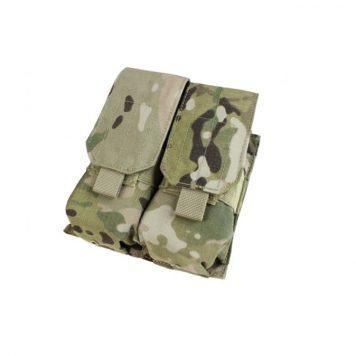 military surplus double m4 mag pouches multicam