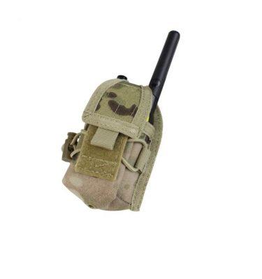 military surplus military surplus condor hhr (hand held radio) pouch multicam