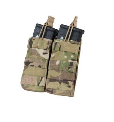 military surplus double m4 mag pouches multicam open top