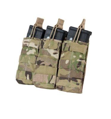 military surplus triple m4 mag pouches multicam open top