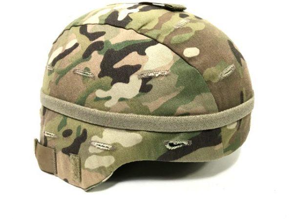 military surplus helmet camo band multicam