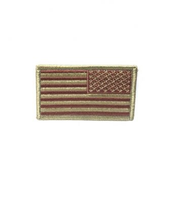 air force military surplus spice brown flag patch