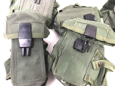 military surplus 30 round m-16 mag pouch used good condition