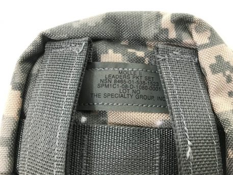 military surplus molle 2 leaders pouch
