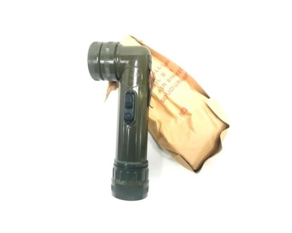 military surplus french army lampe anglehead flashlight tl-122-d