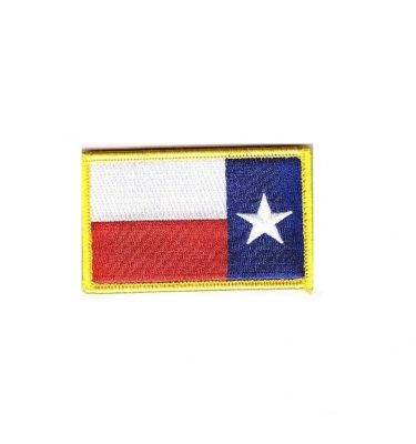 texas flag reverse patch