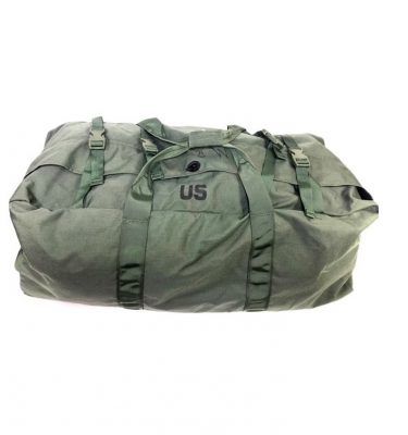 military surplus us gi duffle bag zipper style