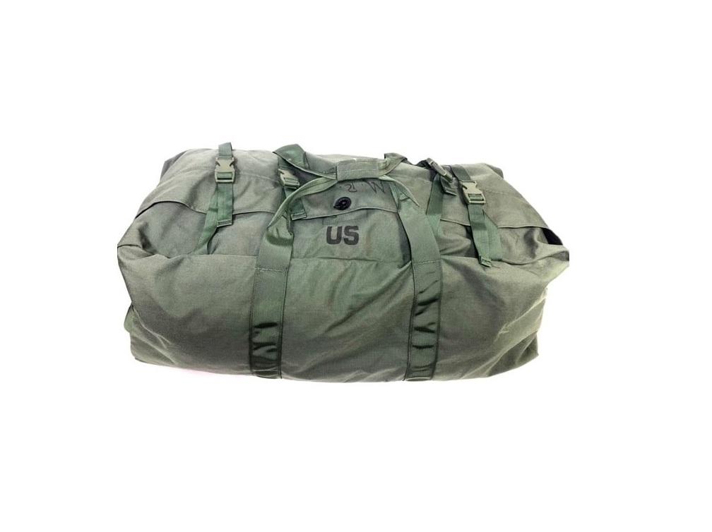 7fbdaae6b US GI Duffle Bag, Zipper Style Used Good Condition - Omahas Army ...