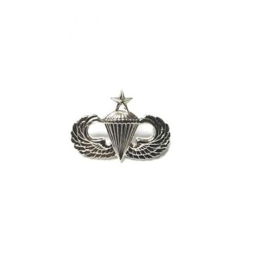military surplus senior jump wings pin on minature
