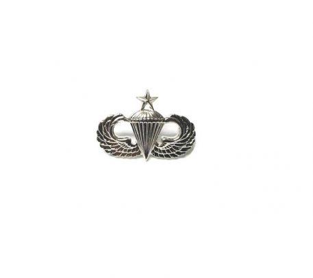 military surplus senior jump wings pin on minature