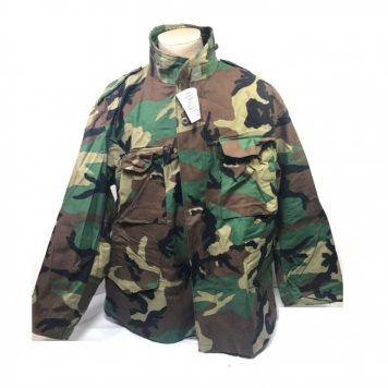 military issue woodland field jacket