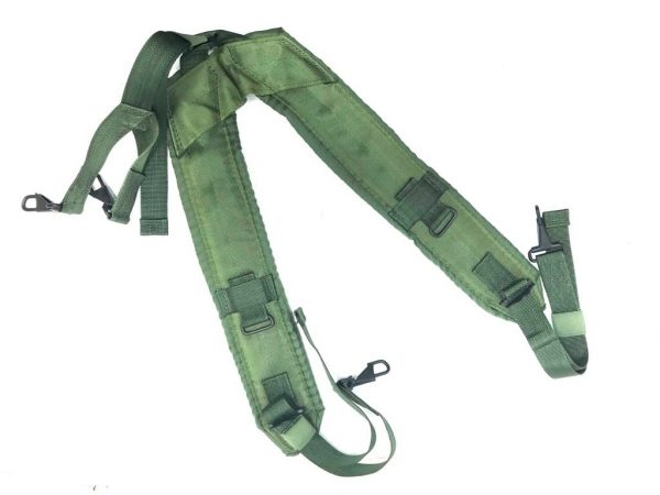 military surplus army navy lc-1 od y type suspenders