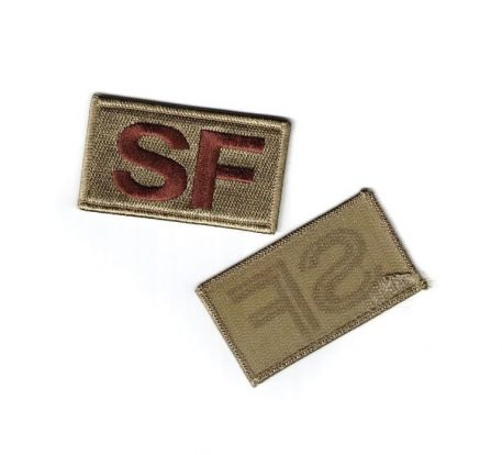 military surplus security forces patch