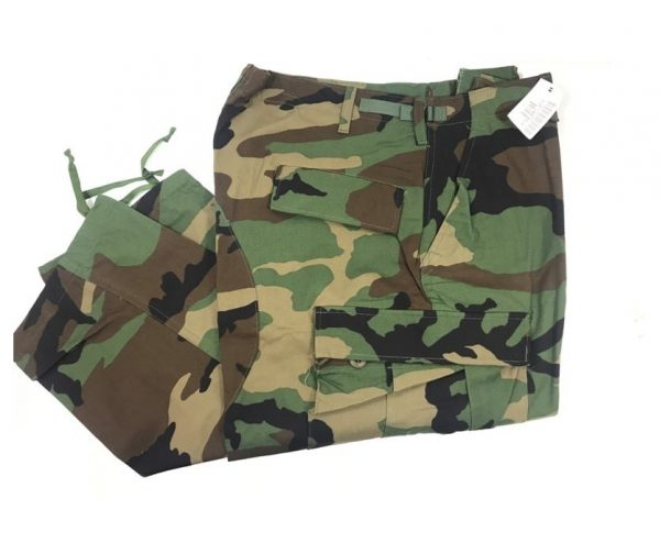 military issue surplus woodland bdu trousers size large regular