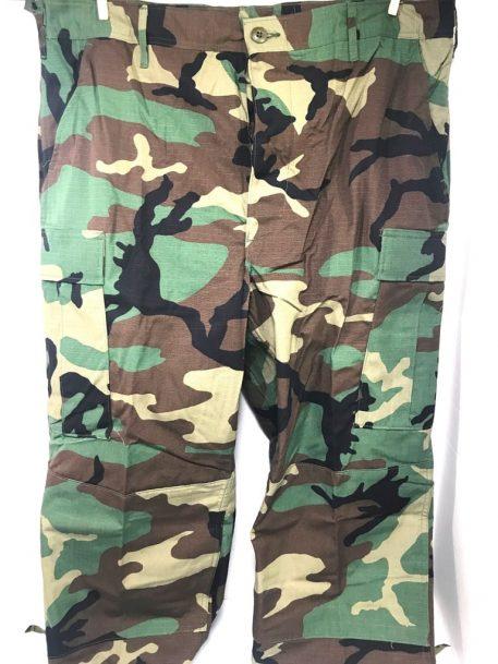 military surplus woodland bdu trousers long length camo pants