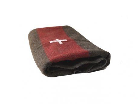 military surplus wool blanket swiss