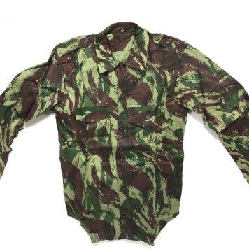 military surplus lizard camo portugal military shirt