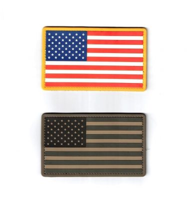 military surplus pvc us flag patch