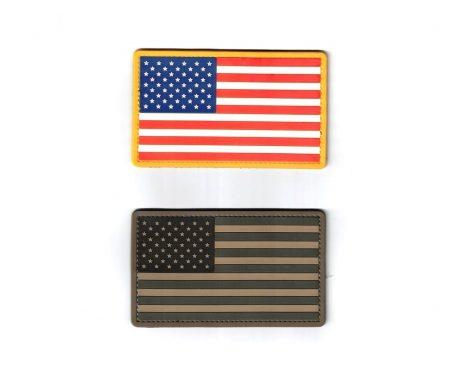 military surplus pvc us flag patch