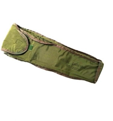 military surplus olive drab green nylon carrying case for slide rule