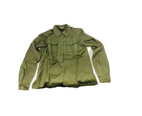 olive drab green womens wool field shirt