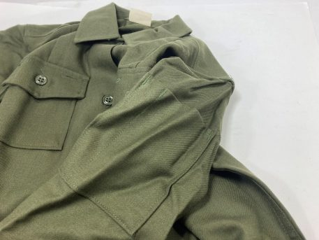 olive drab green womens wool shirt