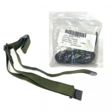 nylon issued rifle sling us made olive drab