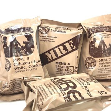 meals ready to eat, mre